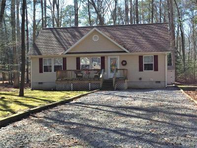 Ocean Pines Single Family Home For Sale: 103 Pinehurst Rd