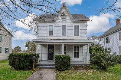 Snow Hill Single Family Home For Sale: 217 E Federal St