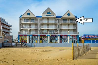 Ocean City Condo/Townhouse For Sale: 901 Atlantic Ave #503