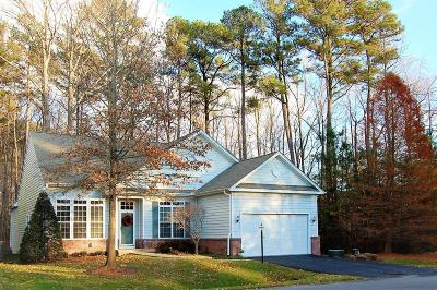 Ocean Pines Single Family Home For Sale: 2 S Fort Sumter