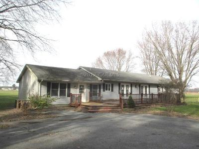Newark Single Family Home For Sale: 8601 Marshall Creek Rd