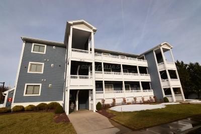 Ocean City Condo/Townhouse For Sale: 201 S Heron Dr #6h