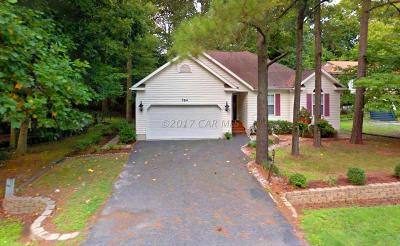 Ocean Pines Single Family Home For Sale: 764 Ocean Pkwy