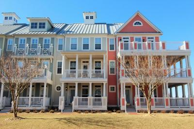 Ocean City Condo/Townhouse For Sale: 36 W Canal Side Mews #36bq