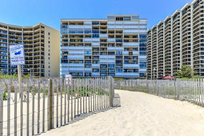 Ocean City Condo/Townhouse For Sale: 11400 Coastal Hwy #8j