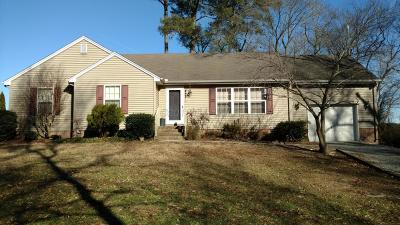 Willards Single Family Home For Sale: 36968 Purnell Crossing Rd