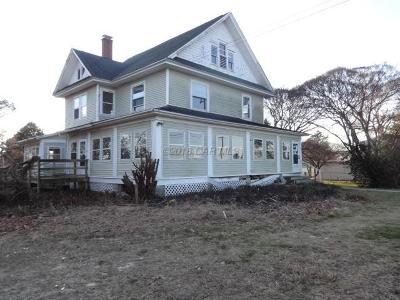 Berlin Single Family Home For Sale: 9848 Old Ocean City Blvd