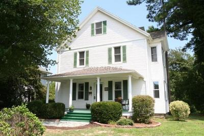 Berlin Single Family Home For Sale: 507 S Main St