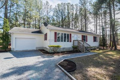 Ocean Pines Single Family Home For Sale: 96 Teal Cir