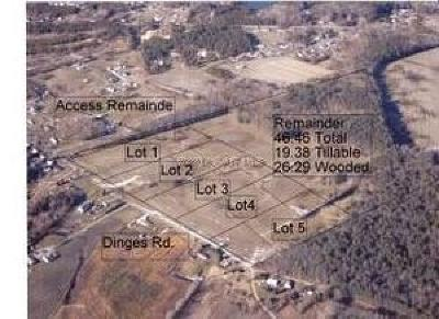 Berlin Residential Lots & Land For Sale: Lot 2 Dinges Rd