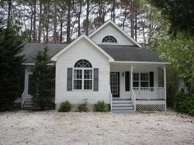 Ocean Pines Single Family Home For Sale: 12 Camelot Cir