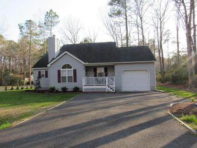 Ocean Pines Single Family Home For Sale: 34 Moonraker Rd