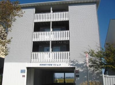 Ocean City Condo/Townhouse For Sale: 772 94th St #D