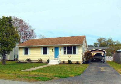 Ocean City Single Family Home For Sale: 10312 Bristol Rd