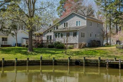 Ocean Pines Single Family Home For Sale: 22 Drawbridge Rd