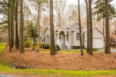 Ocean Pines Single Family Home For Sale: 10 Cannon Dr