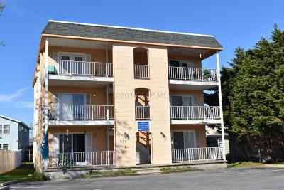 Ocean City Condo/Townhouse For Sale: 322 Sunset Dr #2