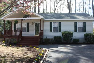 Ocean Pines Single Family Home For Sale: 1072 Ocean Pkwy