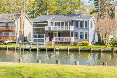 Ocean Pines Single Family Home For Sale: 65 Clubhouse Dr