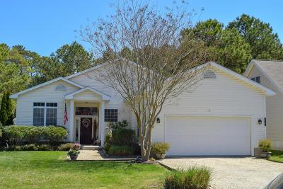Ocean Pines Single Family Home For Sale: 19 Bridgewater Rd