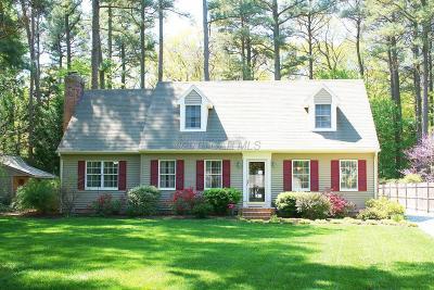 Salisbury Single Family Home For Sale: 406 Shady Creek Way