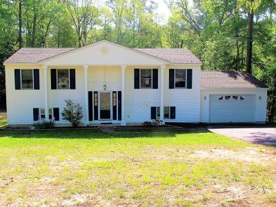 Salisbury Single Family Home For Sale: 6125 Rockawalkin Rd