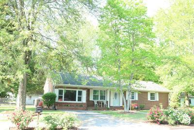 Salisbury Single Family Home For Sale: 201 Hall Dr