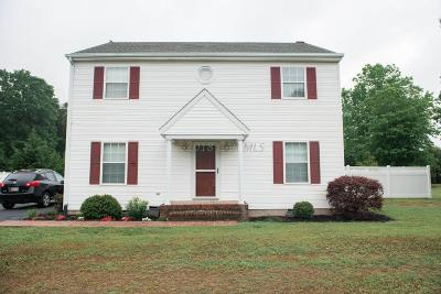 Salisbury Single Family Home For Sale: 1824 S Mill Dr