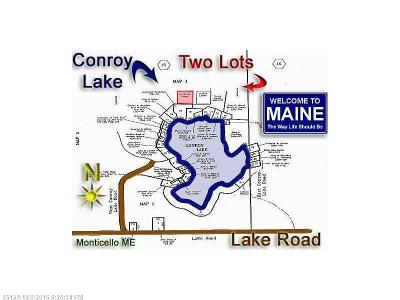 Monticello Residential Lots & Land For Sale: 18 & 19 Off W. Conroy Lake Rd