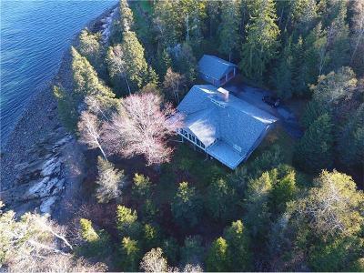 Winter Harbor Single Family Home For Sale: 771 Summer Harbor Road