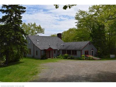 Dennysville ME Single Family Home For Sale: $499,000