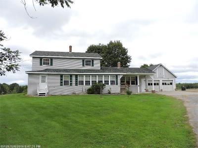 Milo Single Family Home For Sale: 138 Reardon Rd