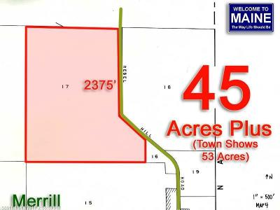 Merrill Residential Lots & Land For Sale: Lot 17 Rebel Hill Road
