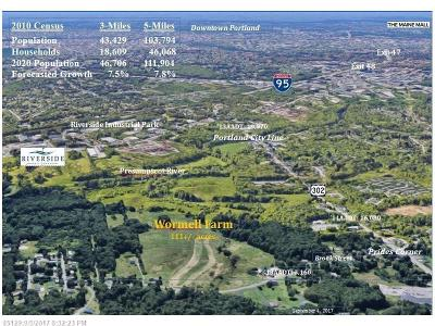 York County, Cumberland County Residential Lots & Land For Sale: 00 Bridgton Rd