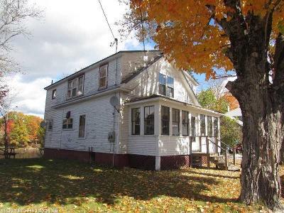 Mattawamkeag Multi Family Home For Sale: 31 Boyd St