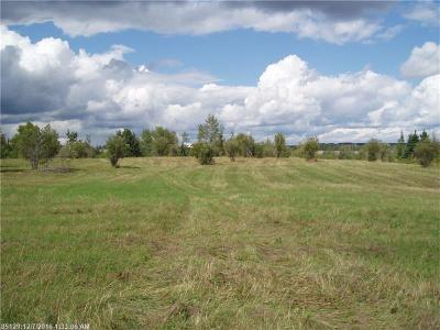 Fort Fairfield Residential Lots & Land For Sale: Lot 9b Currier Rd