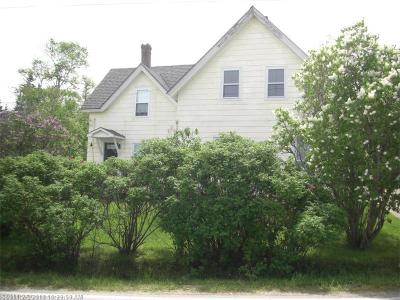 Gouldsboro Single Family Home For Sale: 643 Corea Rd