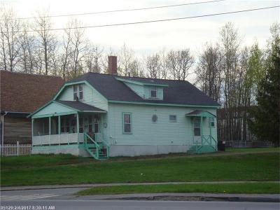 Caribou Single Family Home For Sale: 172 High St