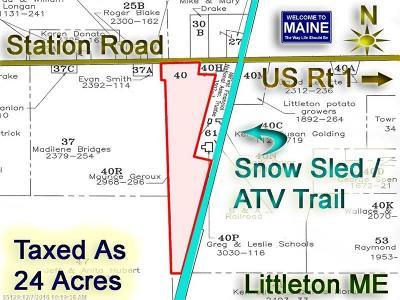 Littleton Residential Lots & Land For Sale: Lot 40 Station Rd