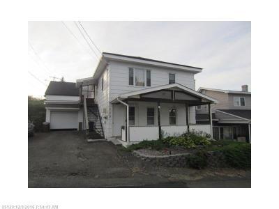 Madawaska Multi Family Home For Sale: 129 Sixth Avenue