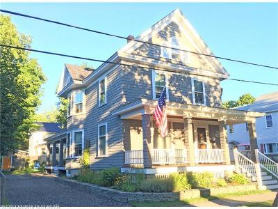 Bangor Single Family Home For Sale: 54 Elm St
