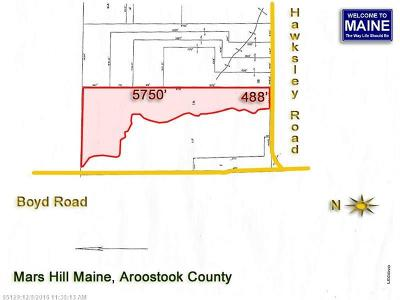 Mars Hill Residential Lots & Land For Sale: Lot 1a Hawksley Rd