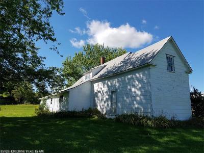 Easton Single Family Home For Sale: 102 Graham Rd