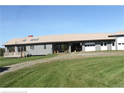Oakfield Single Family Home For Sale: 257 Thompson Settlement