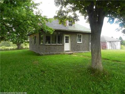 Single Family Home For Sale: 32 County Road