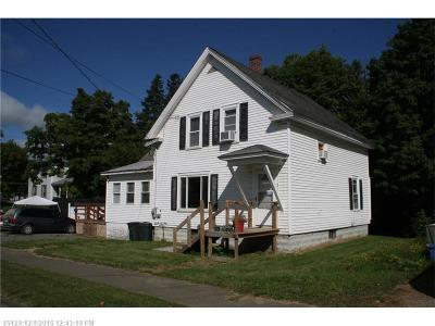 Houlton Single Family Home For Sale: 2 Watson Ave