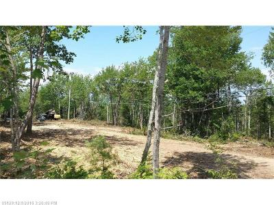 Winter Harbor Residential Lots & Land For Sale: 0 Newman St