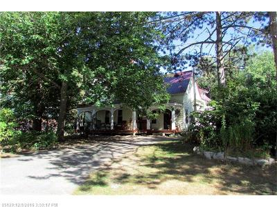 Sullivan Single Family Home For Sale: 43 Whales Back Rd