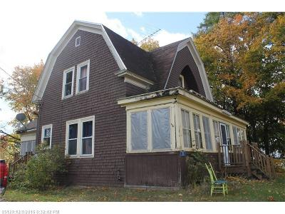 Patten Single Family Home For Sale: 35 Scribner St