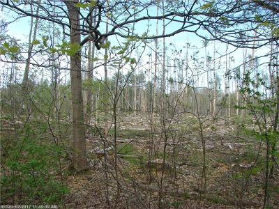 Hampden Residential Lots & Land For Sale: Lot A Pond Road